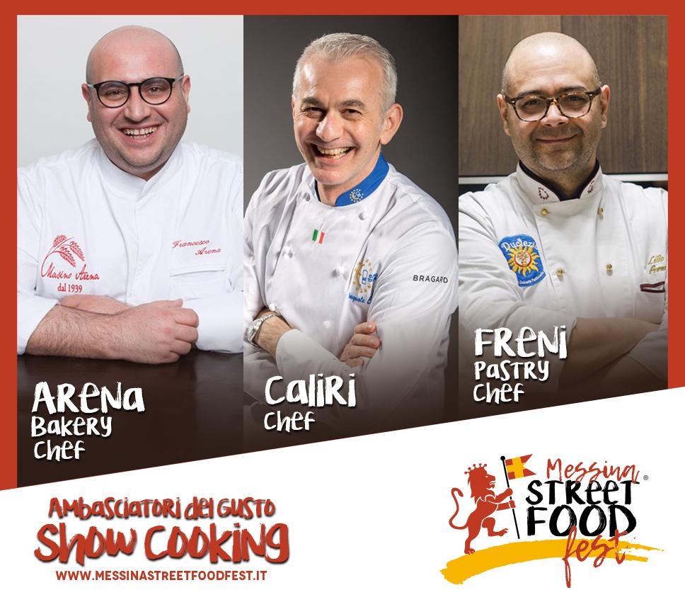 Show Cooking Ambasciatori del gusto