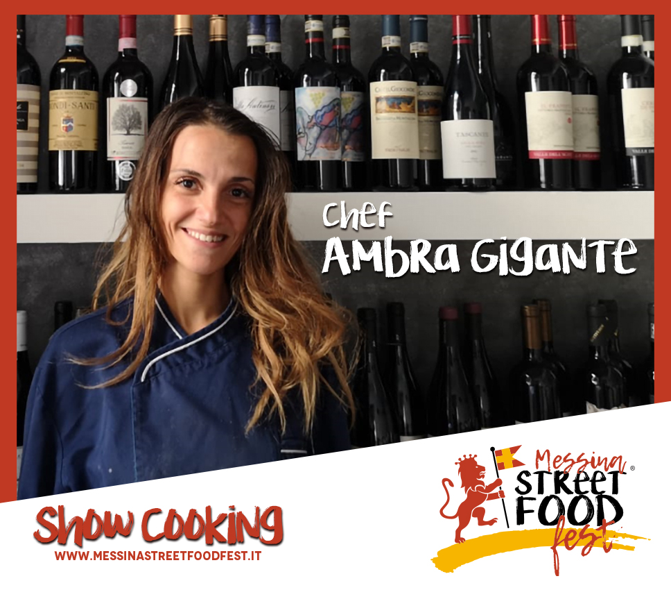 Show Cooking chef Ambra Gigante