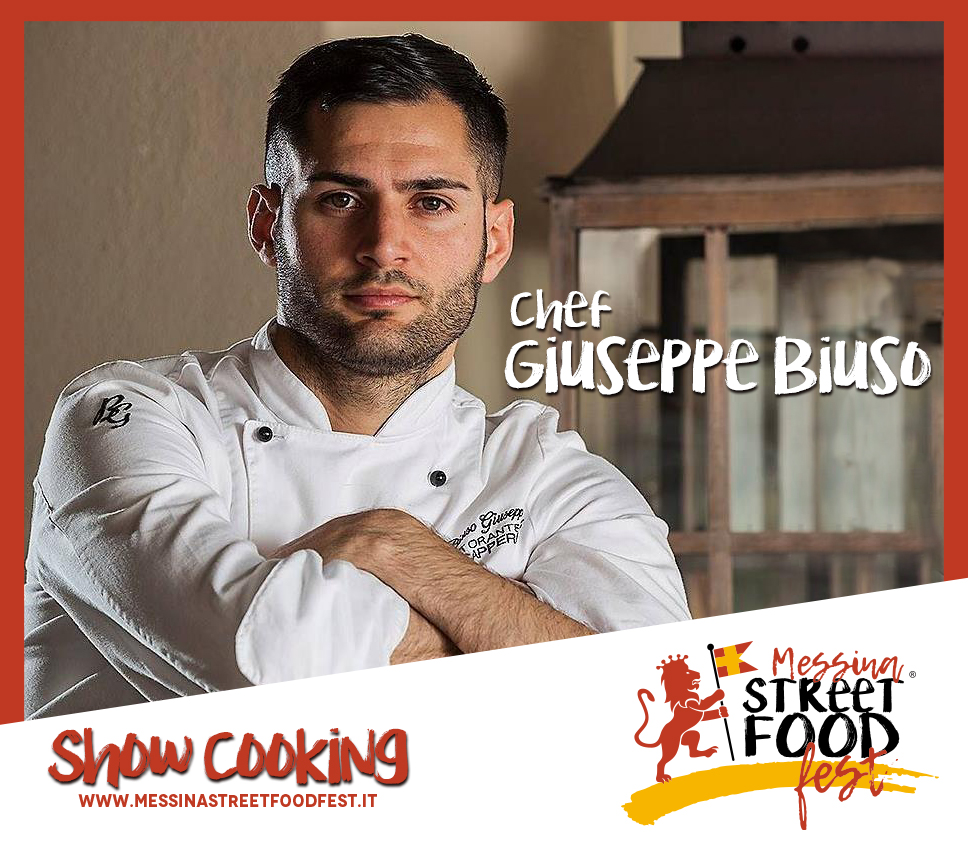 Show Cooking chef Giuseppe Biuso