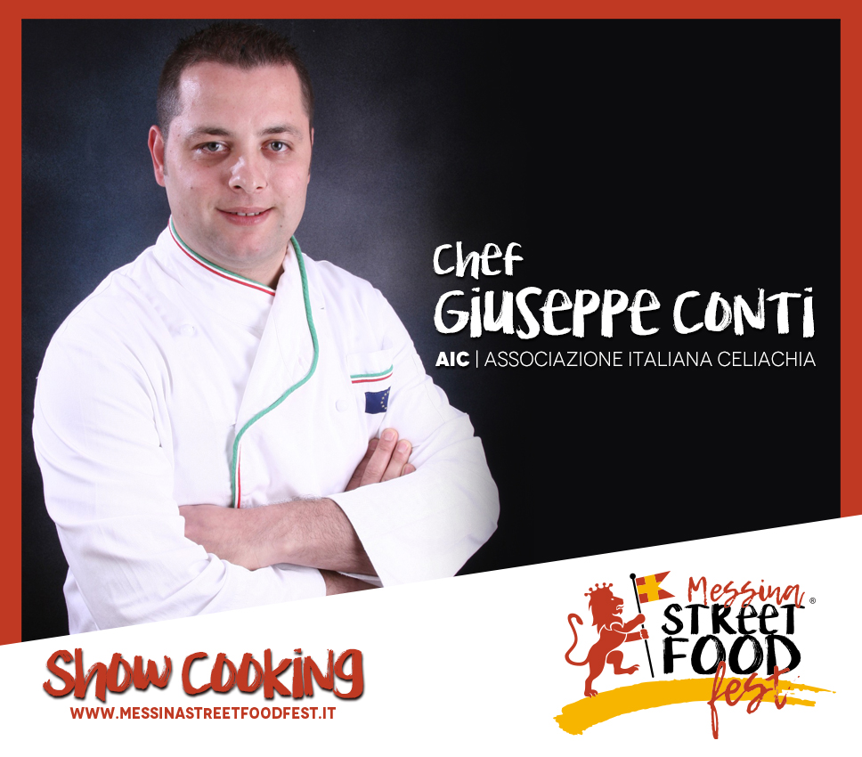 Show Cooking chef Giuseppe Conti