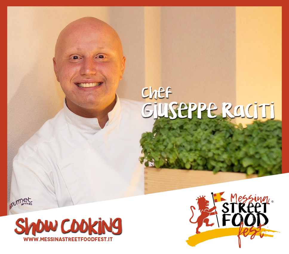 Show Cooking chef Giuseppe Raciti