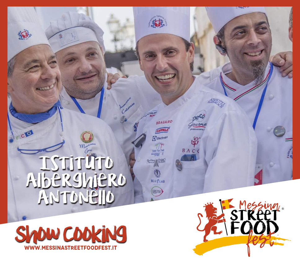 Show Cooking chef Istituto alberghiero Antonello Messina