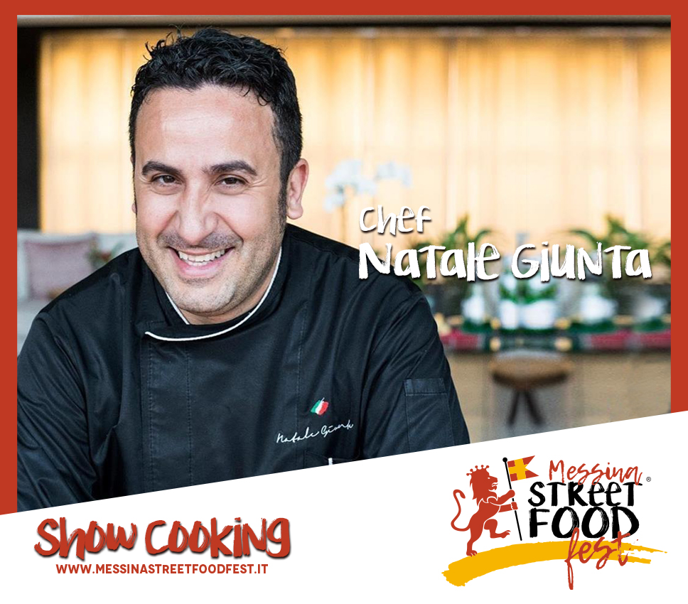 Show Cooking chef Natale Giunta