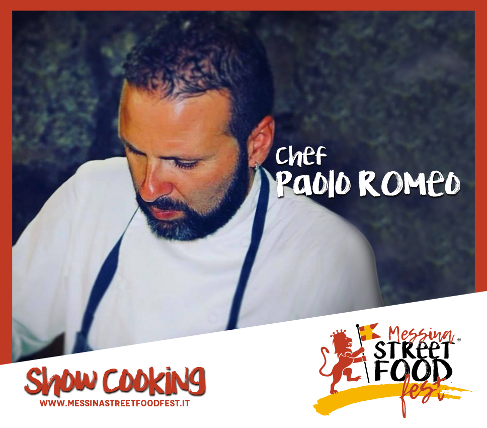 Show Cooking chef Paolo Romeo