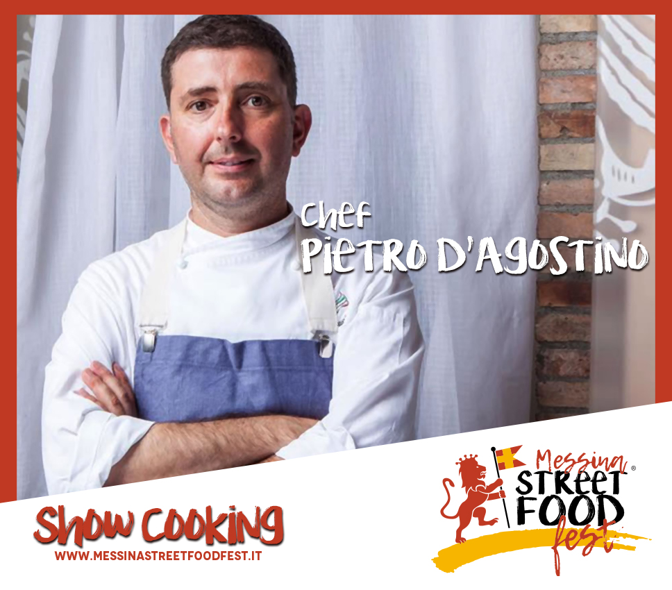 Show Cooking chef Pietro D'Agostino