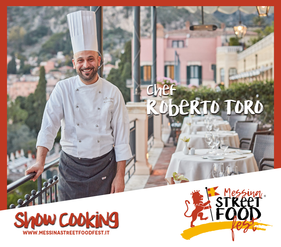 Show Cooking chef Roberto Toro