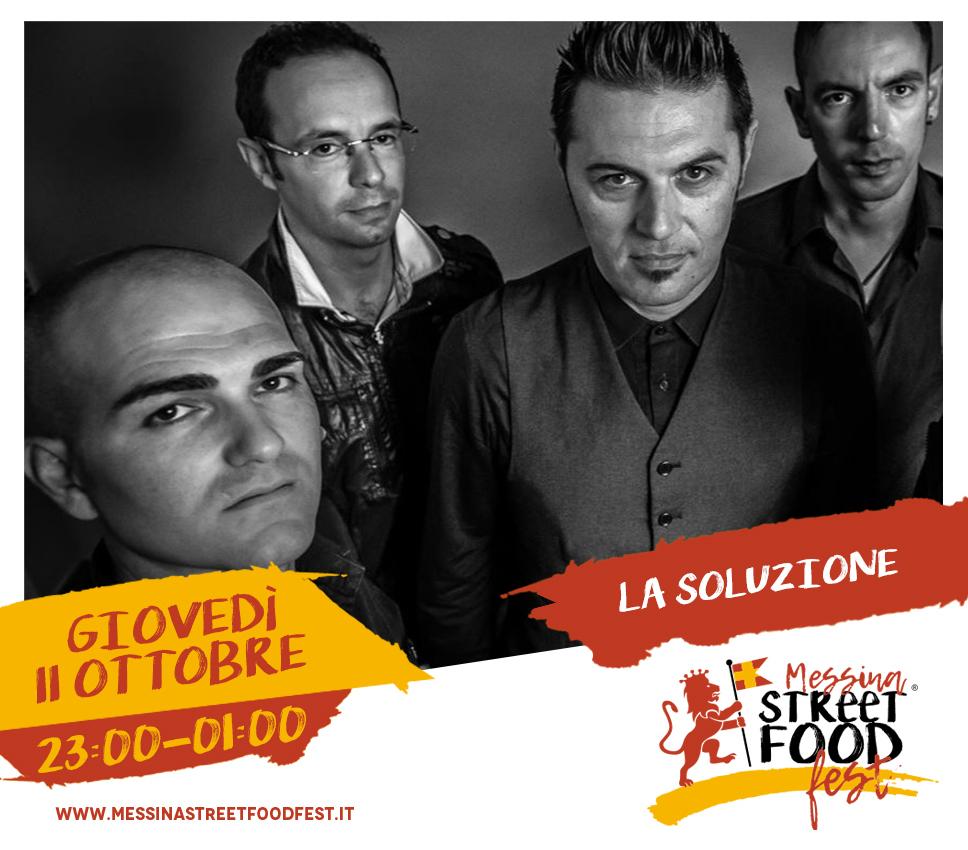 Messina Street Food Fest 2018 Spettacolo La Soluzione