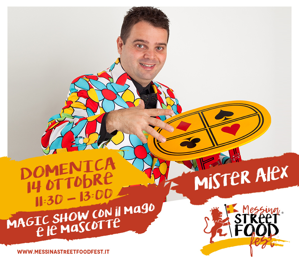 Messina Street Food Fest 2018 Spettacolo Mister Alex