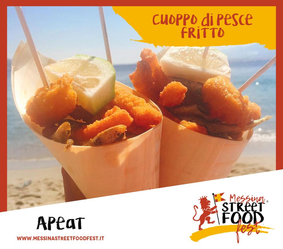 Messina Street Food Fest Cuoppo di pesce fritto