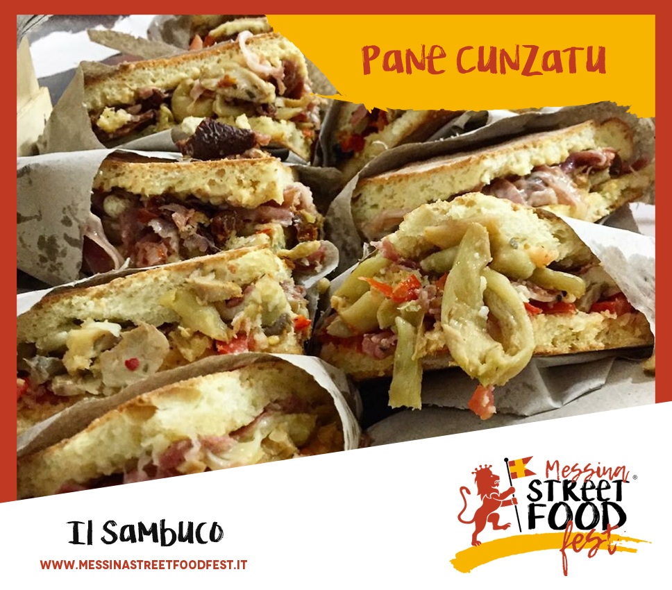 Messina Street Food Fest Pane Cunzatu