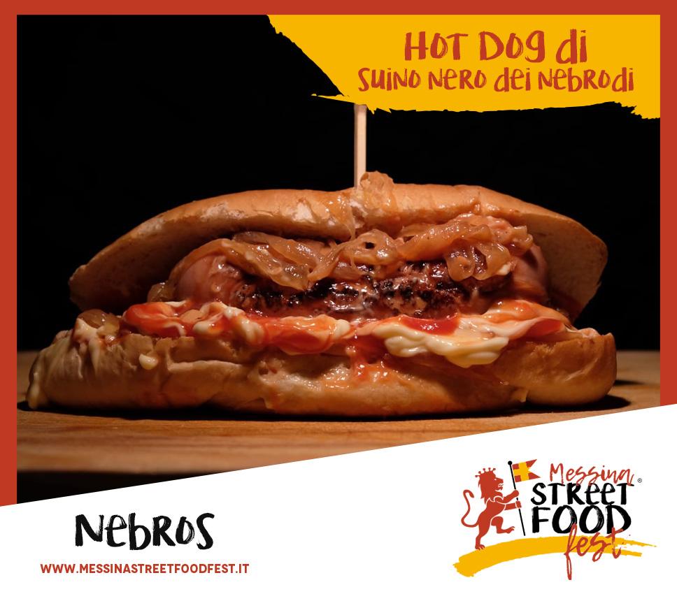Hot Dog di suino nero di Nebrodi