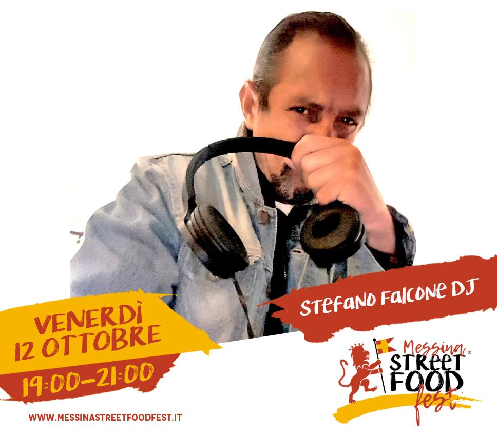 Messina Street Food Fest 2018 Spettacolo Stefano Falcone DJ
