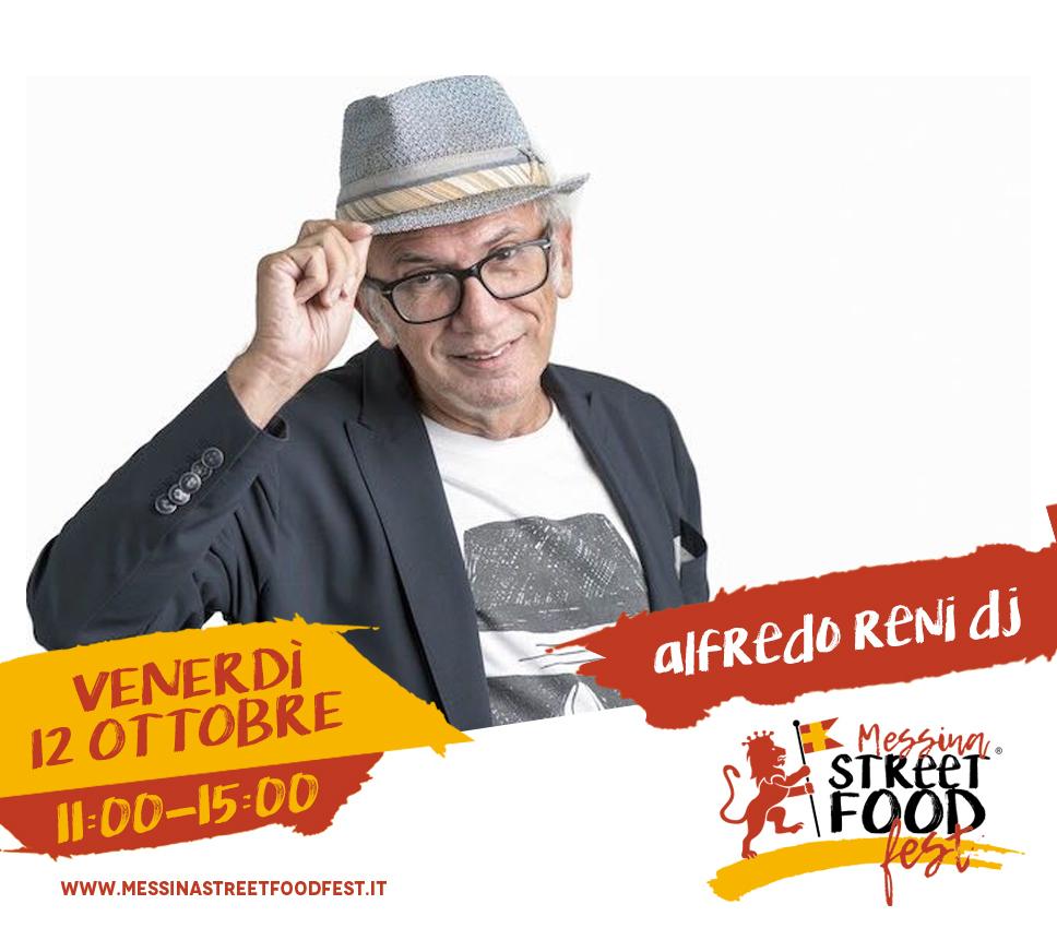 Messina Street Food Fest 2018 Spettacolo Alfredo Reni dj