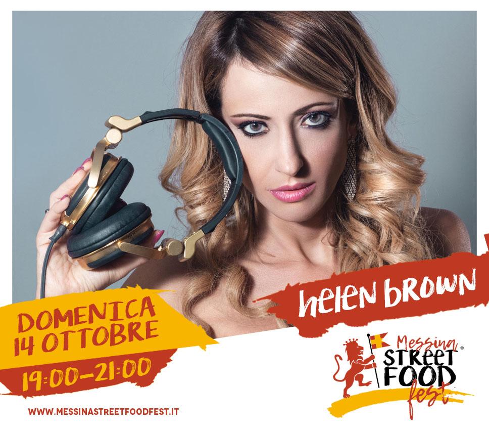 Messina Street Food Fest 2018 Spettacolo Helen Brown