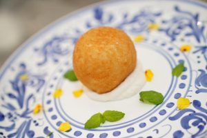 Arancino al mojito Chef Francesco Arena Messina Street Food Fest
